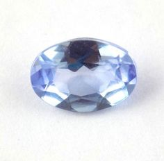 1 Pcs Natural Iolite Oval Shape 5x7mm .75Cts Faceted Normal Cut Loose Gemstone #Raagarw