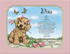 Pet Lovers Personalized Gifts Keepsakesand by CreationsByFrannie, $18.95