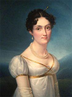 Elizabeth Patterson Bonaparte ca. 1817. Painging by Francois Josephe Kinsoen, now owned by the Maryland Historical Society