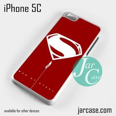 Man of Steel YDP Phone case for iPhone 5C and other iPhone devices
