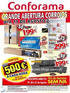 Promoções Conforama - Antevisão Folheto 11 a 25 agosto - http://parapoupar.com/promocoes-conforama-antevisao-folheto-11-a-25-agosto/