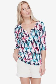Tart Blurred Lines Blouse in XS