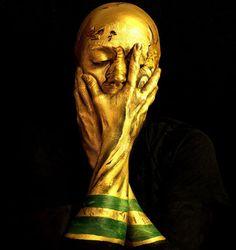 World Cup Trophy Portrait