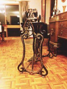 1875 Antique E H Patent Elastique Sewing Machine Very Rare Singer Howe MBM | eBay