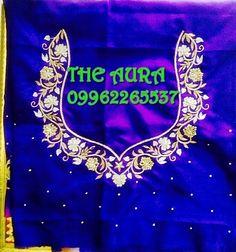Blouse Designs Catalogue, Best Blouse Designs, Simple Blouse Designs, Bridal Blouse Designs, Chudidhar Neck Designs, Dress Neck Designs, Hand Designs, Embroidery Works, Hand Embroidery Designs