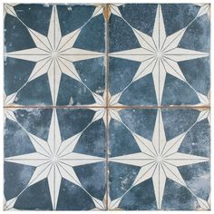 Star Patterns, Tile Patterns, Blue Tiles, Wall And Floor Tiles, Mosaic Wall Tiles, Room Tiles, Star Sky, Reno, Stone Tiles
