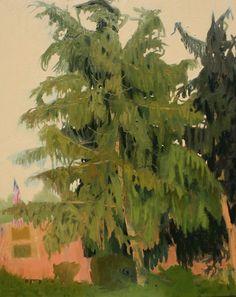 'Neath the Spreading Pines-Joseph Noderer