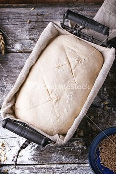 Baking Bread Stock Image