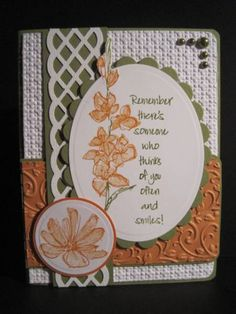 SC303 Thinking of You and Smiling by lisaadd - Cards and Paper Crafts at Splitcoaststampers