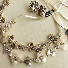 今年のtamaraはますますロマンチックに! #wedding #weddingaccessories #bridal #jewelry #headpiece #headdress #costumejewelry #vintage #mokuba #swarovski #motherofpearl  #コスチュームジュエリー #ウェディング #ブライダル #ヘッドドレス #ブライダルアクセサリー #結婚式 #花嫁 #白蝶貝 #ヴィンテージ #スタジオバラック #tamara #citta  Our online shop is ---->>> www.monsoon-bazaar.com/citta