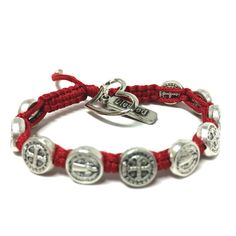 Blessing for Love  - Red Benedictine Blessing Bracelet Share your love with your blessings! #blessingbracelets #valentinesday #gift