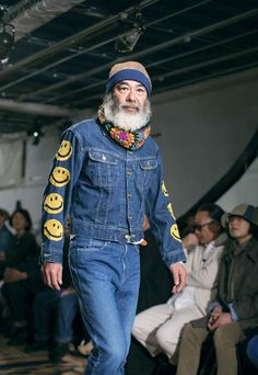 Last month Japanese denim legends Kapital hosted their first ever runway show for the A/W 15 collection. Head over to WGSN's Denim Denim Dose to view the complete looks