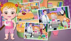 Baby Hazel lost her balance on table and fell down fracturing her hand. Be with her to pay heed to her needs as she is unable to move her plastered hand. http://www.babyhazelgames.com/games/baby-hazel-hand-fracture.html