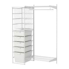 ANTONIUS 2 sections,clothes rail & frame IKEA