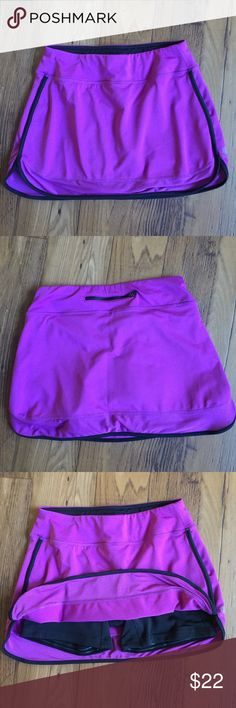 Athleta Skirt Short Jogging Cycling Workout I wore this once! Great condition!! Athleta Shorts Skorts