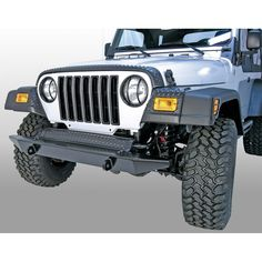 Front Fender Guards, Body Armor; 97-06 Jeep Wrangler TJ - Crawltech Offroad