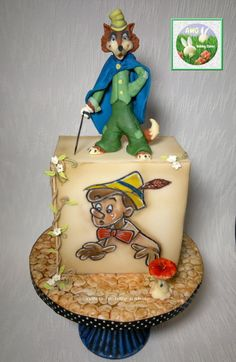 Would You Buy A Pinocchio Cake from Honest John? made by AWG Hobby Cakes