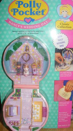 What was it about #90s girls and tiny toys? Love Polly Pocket!