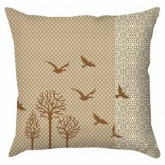 Capa para almofada birds.