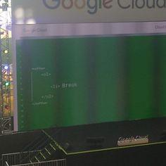Esqueceram de fechar um elemento ali. Vai bugar o código #CloudOnBoard