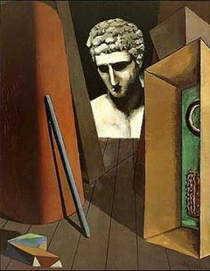 Art Print: Melancolie Hermetique, by Giorgio De Chirico : Italian Painters, Italian Artist, Spanish Painters, Art Tribal, Art Antique, Arte Popular, Magritte, Traditional Paintings, Art Moderne