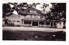 BC – QUESNEL, Quesnel Hotel, 228 Front Street c.1934 RPPC