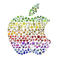 Apple emoji I have an apple I have a rainbow bag of emoji's! Lol apple must be going to a whole new levle in pride month. Whatsapp Wallpaper, Emoji Wallpaper, Emoji Mignon, Emoji Board, Emoji Craft, Emoji Love, Emoji Pictures, Funny Emoji, Cute Wallpapers