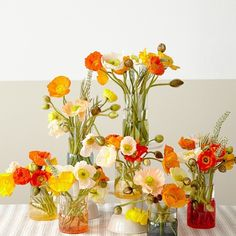 """Friday flowers! We love these arrangements from @tulipinadesign featuring our Monterrey Outdoor Drinkware ."""