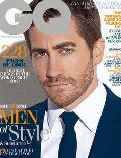 Jake Gyllenhaal on Details Magazine Cover- Beard is In Fashion