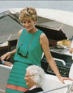 Diana in teal tiered skirt The Last Princess, Princess Diana Family, Royal Princess, Princess Of Wales, Lady Diana Spencer, Spencer Family, Princesa Diana, Diana Fashion, 80s Fashion