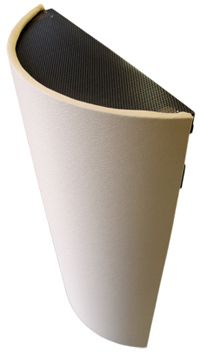 Acoustical Diffusion, Recording Studio Acoustics, Professional Studio Sound– Curve Acoustical Diffusors