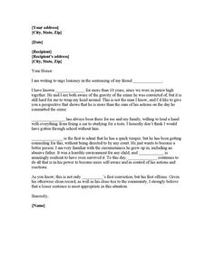 Character Reference Letter | Search Engine - Image - character ...