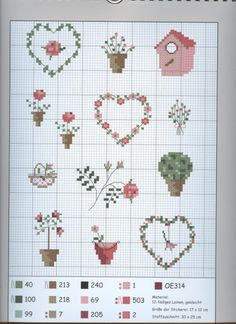 ru / photo nº 15 - with cross stitch through the year - Gallery.ru / Foto n º 15 – Mit Kreuzstich durchs Jahr – Gallery.ru / Photo nº 15 – With cross-stitch through … - Tiny Cross Stitch, Cross Stitch Heart, Cross Stitch Borders, Cross Stitch Flowers, Cross Stitch Designs, Cross Stitching, Cross Stitch Embroidery, Cross Stitch Patterns, Christmas Embroidery Patterns