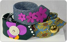 A great take on the menswear trend! Fashion Expert Bjorn creates bracelets from men's neckties found at Goodwill!