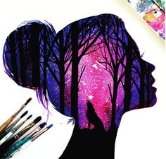 Beautiful Silhouette Paintings by British Artist Danielle Foye …