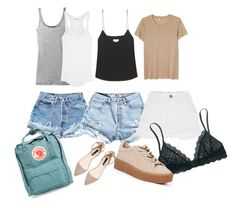"""""""Summer Spring Must Haves"""" by filthyriot on Polyvore featuring Vince, Étoile Isabel Marant, Levi's, River Island, Raey, Fjällräven, Madewell, women's clothing, women and female"""