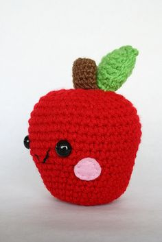 amigurumi apple