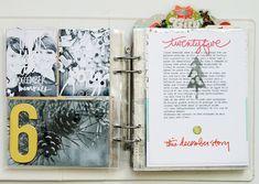 #decemberdaily Day 4 to 11, by Celine Navarro #memorykeeping #scrapbook…