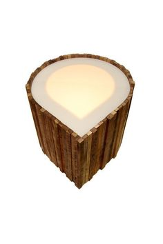 Lighted Acorn Table