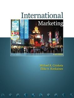 Get yourself an excellent result of study in the field of marketing by preparing you to conquer the international business world from Free Test Bank for International Marketing 9th Edition by Czinkota. Actually, it is 100% free for your practice to help you get full of understanding by free online samples closely this textbook.