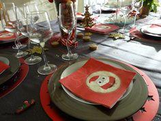 Table de Noël simple et sans artifices!!!