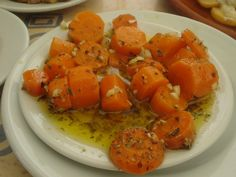 Delicious carrot appetizer like they serve in restaurants in southern Portugal.