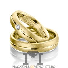 Verighete aur galben 3mm MDV5058 #verighete #verighete3mm #verigheteaur #verigheteaurgalben #magazinuldeverighete 50 Euro, Gold Wedding Rings, Aur, Engagement Rings, Jewelry, Jewels, Crystal, Diamond, Rings For Engagement