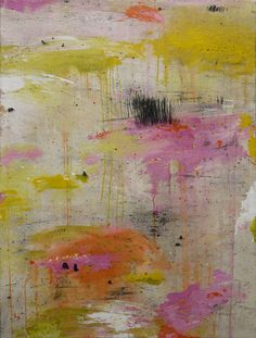 """Saatchi Art Artist: Claire Forgeot; Mixed Media Painting """"lost landscapes n°2"""""""