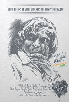 A Valuable Tribute to Our Honourable President Dr. A P J Abdul Kalam Sir! Good Morning Image Quotes, Morning Images, Apj Quotes, Best Quotes, Indian Flag Images, Learning Websites For Kids, Legend Drawing, Kalam Quotes, Abdul Kalam