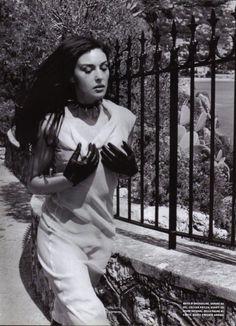 Monica Belluci by Helmut Newton