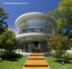 Casa residencial en Argentina
