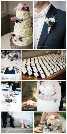Simple and pretty wedding | Wedding floral | Wedding decor | jessicawonders.com | Noelle Bakken Photography