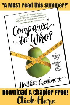 Must read book for Christian women on topic of body image and comparison. Looking for a Gospel-centered way to get healthier? This book is for you!
