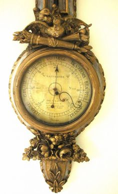 French barometer circa 1763...IH a similar one on AZ